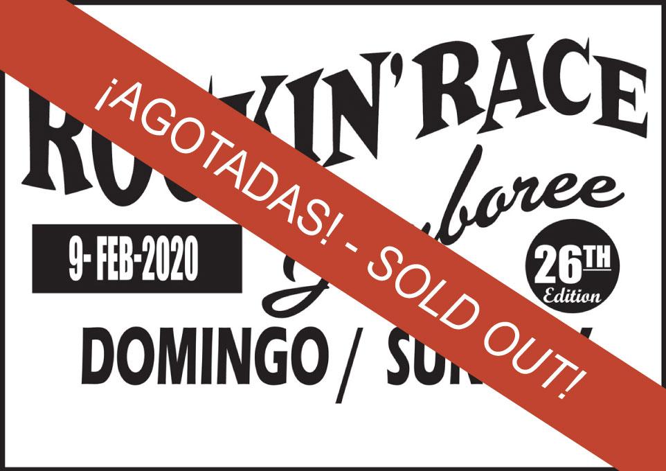 Rockin' Race Domingo 2020 Entradas Agotadas